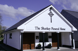 The Sharkey Funeral Home, Frenchpark, Co. Roscommon.